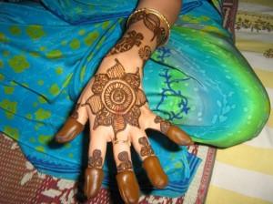 Full Hand Henna Design For Eid