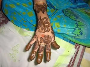 Henna Design For Eid for Girl