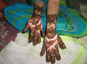 New Bridal Henna Design For Eid 2011