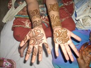 Cute Henna Design For Eid  Photo