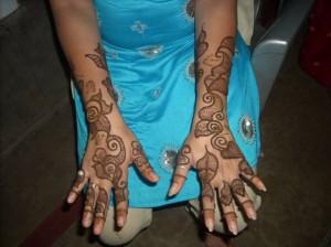 Pakistani Bridal Henna Design For Eid