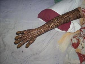 Beautiful Henna Design For Eid