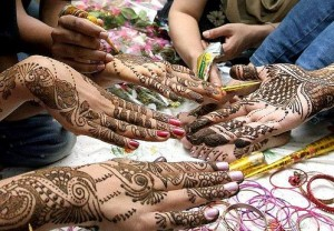 New Bridal Henna Design 2011