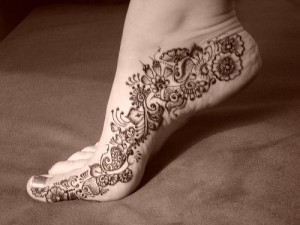 Henna Design for Both Foot