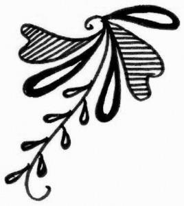 Latest Henna tattoo design sketch