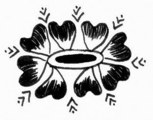 New Henna tattoo design sketch