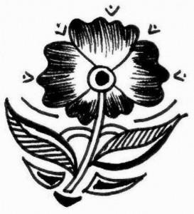 Henna tattoo design sketch 2011