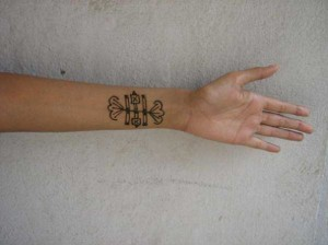 Pakistani Henna tattoo