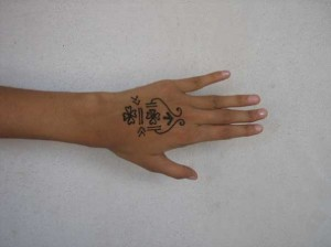 New Henna tattoo