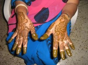 Indian Bridal Mehandi Designs