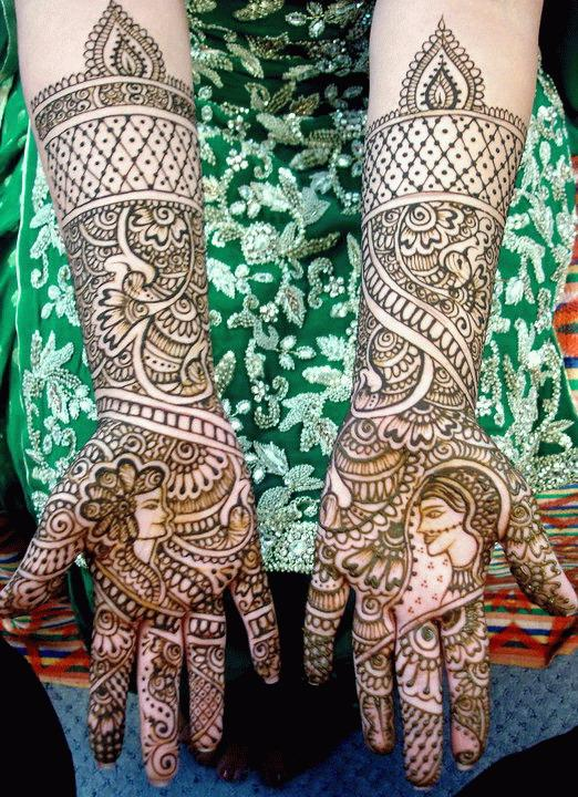 Indian Bridal Henna Designs: Indian Mehndi Styles