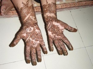 Indian Beautiful Hand Mehndi Design
