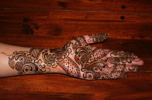 Latest Arabic Mehndi Design