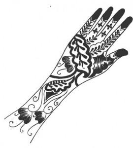 Pakistani Bridal Henna Petterns
