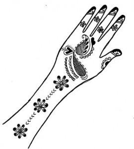 Henna Petterns for Hand
