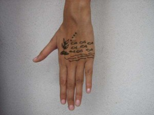New Henna tattoo design