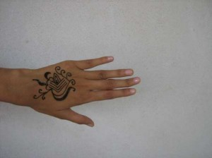 Henna tattoo design  for Girl