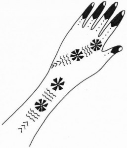 Wedding Mehndi Design Sketch