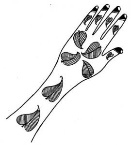 Beautiful Mehndi Design Sketch