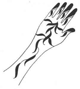 Mehndi Design Sketch 2011