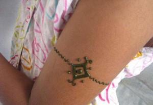 Mehndi tattoo design  for Arm