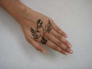 Mehndi tattoo design  For Wedding