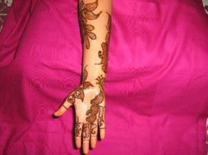 New Bridal Mehndi 2011