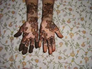 Mehndi Design for Inside Hand