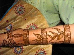 Arm Mehandi Design