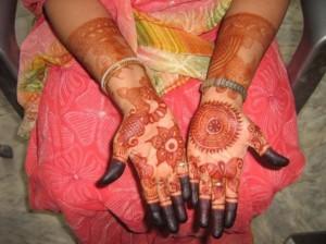 Wedding Mehandi Design For Hands