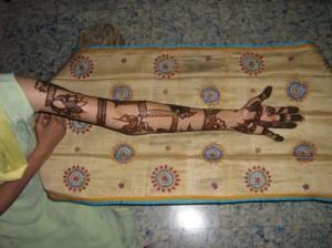 Pakistani Mehandi Design for Hand