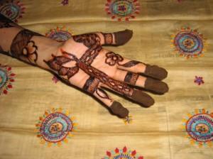Mehandi Design for Inside Hand