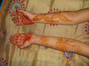 Mehandi Design for Both Hands