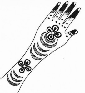 Beautiful Mehndi Design Sketch