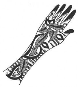 Latest Mehndi Design Sketch for Hand