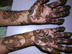 Mehndi Design for Inside Hand