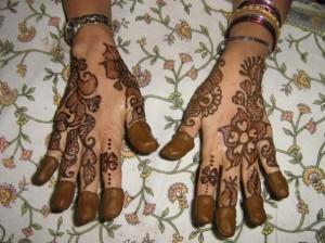 Cute Mehndi Design Photo