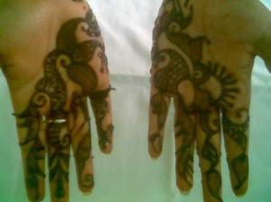 Mehndi Design for Both Hands