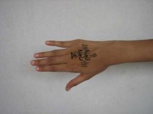 Mehndi tattoo  2011