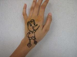 Mehndi tattoo  for Both Hands