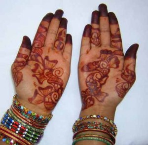 Mehndi Design for Girl