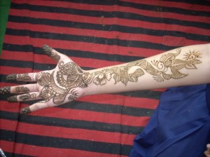 Wedding Henna Design For Hands