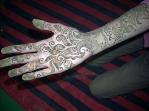 Full Hand & Arm Henna Design