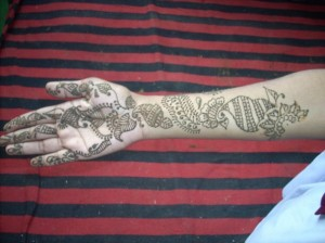Henna Design for Girl