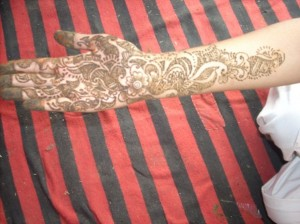 Pakistani Mehndi Design for Hand