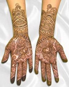 EID Mehndi Design for Girl
