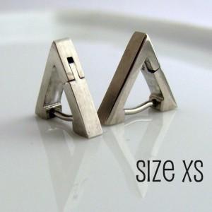 Men's Earrings Silver Hoop - Ear Cartilage or Nose Ring