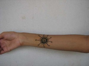 Henna tattoo design  for Arm