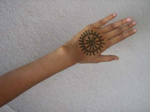 Henna tattoo design  2011