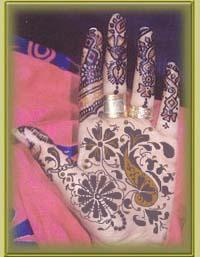 Old Arabic Mehndi Design